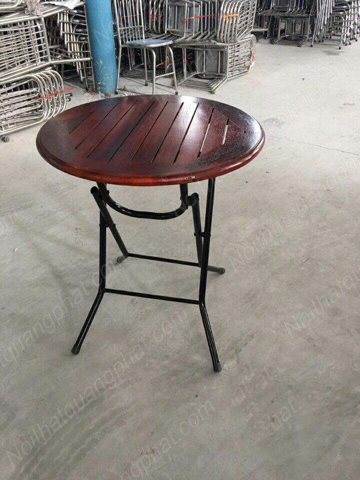 bàn cafe thanh lý hình tròn