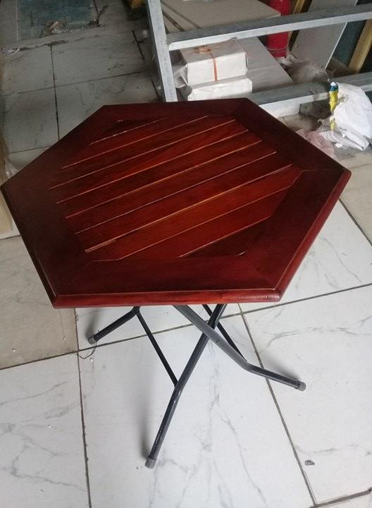 bàn cafe lục giác