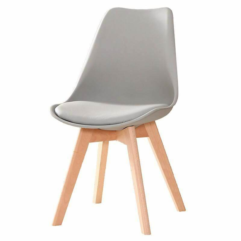 ghế cafe gỗ bọc da thanh lý