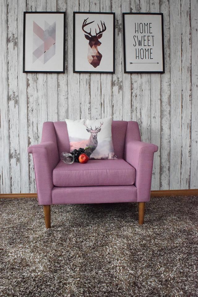 sofa nỉ đơn hồng giá rẻ