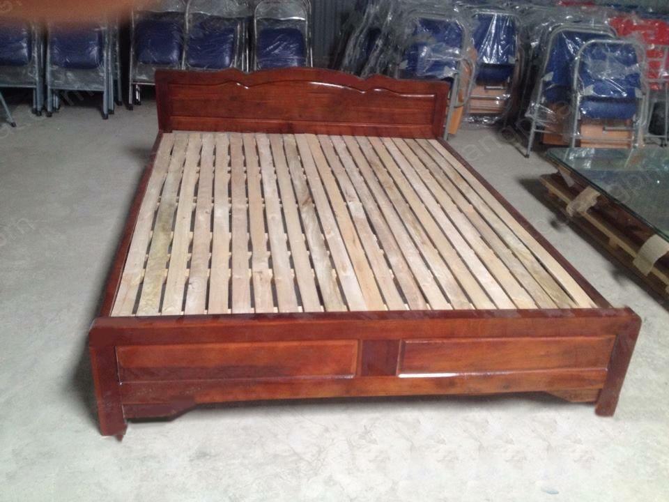 giường gỗ xoan ta giá rẻ