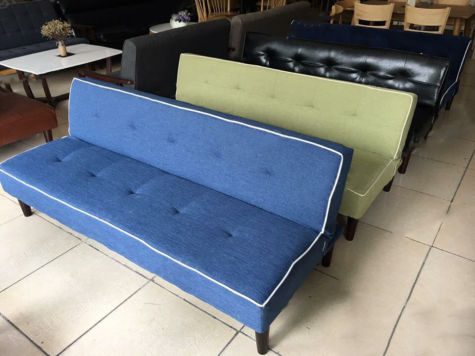 sofa giường giá rẻ có viền đẹp