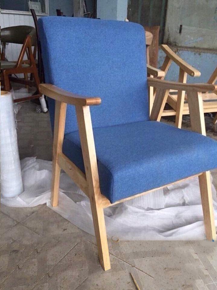 ghế sofa đơn gỗ giá rẻ