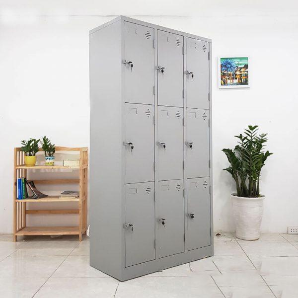 tủ locker 9 ngăn thanh lý
