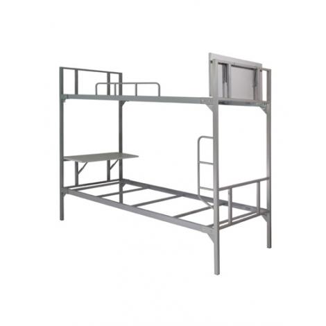 giường sắt 2 tầng có bàn học