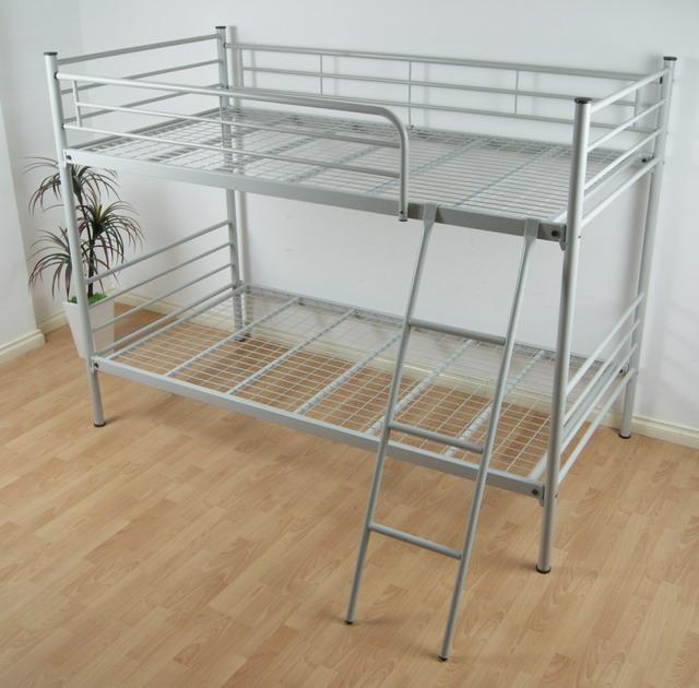 giường sắt 2 tầng giá rẻ có thanh chắn
