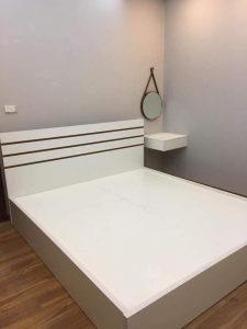 Giường ngủ gỗ MDF với nhiều màu sắc giá rẻ nhất hà nội, chất lượng cao được cung cấp bởi nội thất AMI tại kho nội thất lớn nhất hà nội