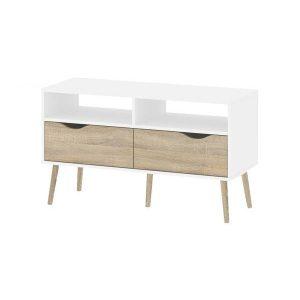 Kệ tivi 2 tầng hiện đại, rẻ được thiết kế theo phong cách hiện đại, sản phẩm gồm 2 ngăn kéo, 4 hộc đồ . Kệ tivi 2 tầng 6 ngăn rẻ đẹpđược làm từ chất liệu gỗ MDF phủ bóng 2K và chân Gỗ sồi tự nhiên