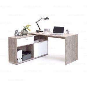 Bàn làm việc tủ phụ xoay thẳng hoặc gócViệc lựa chọn đồ nội thất và cách sắp xếp bố trí các vật dụngcó tác động rất nhiều đến diện tích không gian nhà. Một chiếcbàn làm việcđa năng, nhỏ gọn và dễ dàng di chuyển
