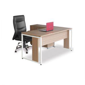 Bàn làm việc chân sắt hiện đại, chân sắt hiện đại, cao cấp. Mẫu bàn này được thiết kế từ sự kết hợp giữa gỗ và sắt sơn tĩnh điện